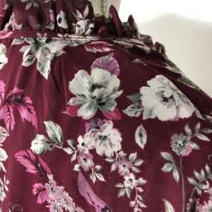 Skies Are Blue Tops - Skies Are Blue (Stitchfix) Floral Blouse Size XL